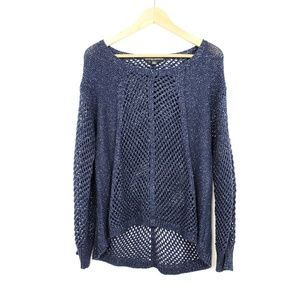 Rock & Republic Mesh Sweater | Large
